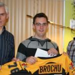 Charles Brochu est le finissant par excellence pour la saison 2012-2013