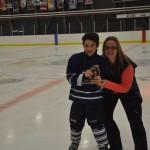 Trophée joueur par excellence: Romain L'italien, Entr. Michaud, commandite Le Lounge, remis par Mme Valérie Simard, vice-présidente Hockey Matane