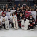 Atome CC: Équipe finaliste: Mariniers 2, Rimouski et équipe championne: Sieurs Desjardins Matane
