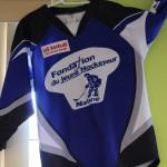 Le chandail de la Fondation du jeune hockeyeur
